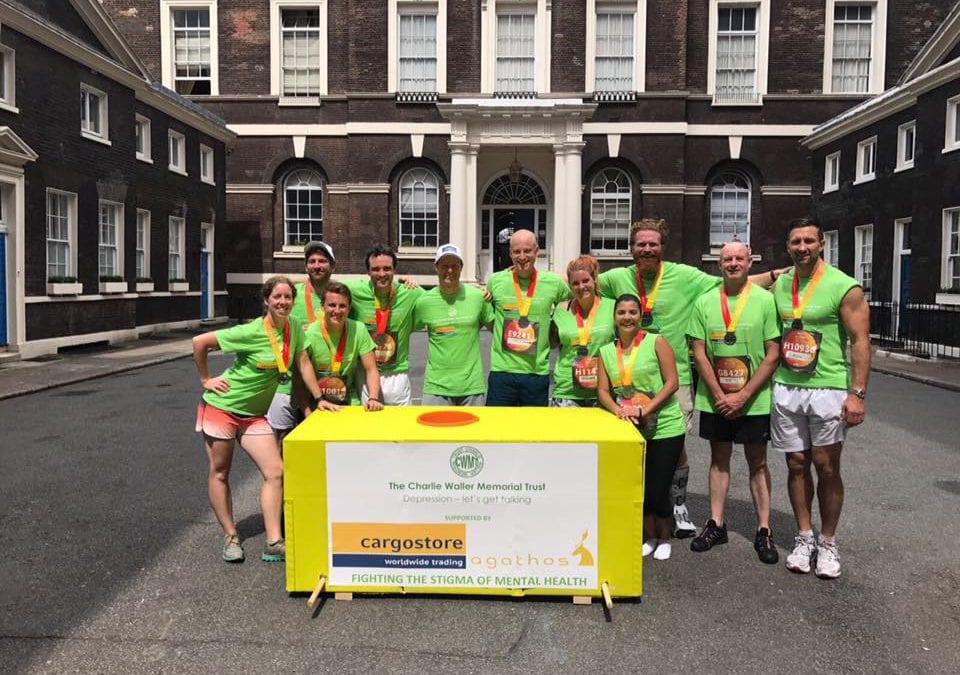 Cargostore and Agathos Run For Mental Health Awareness