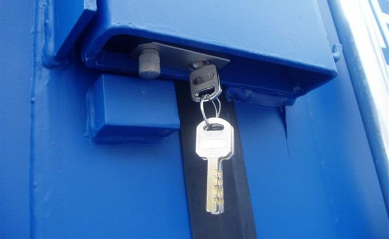 shipping container security