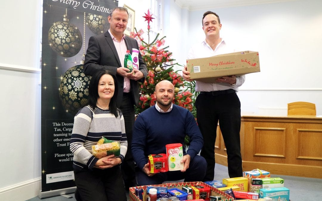 Cargostore Runs Christmas Food Appeal in Wimbledon
