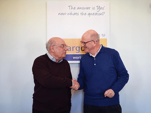 Ian Hallums retires from Cargostore