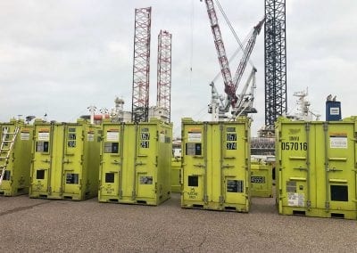 Cargostore DNV CCUs at Ymuiden Depot