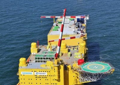 Helwin Alpha and Beta Platforms in the North Sea