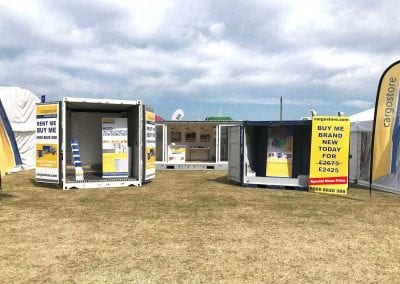 Cargostore Bespoke Trade Stand at the Royal Norfolk Show