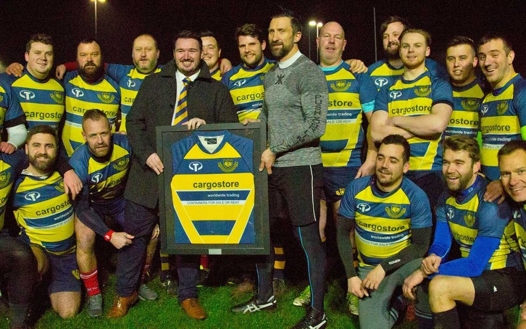 Cargostore sponsors local rugby team