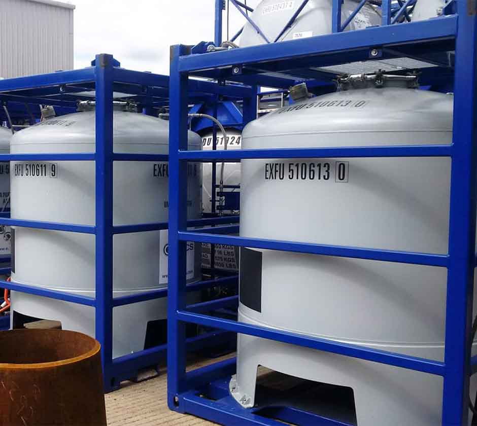 Offshore Tank Containers | Cargostore Worldwide
