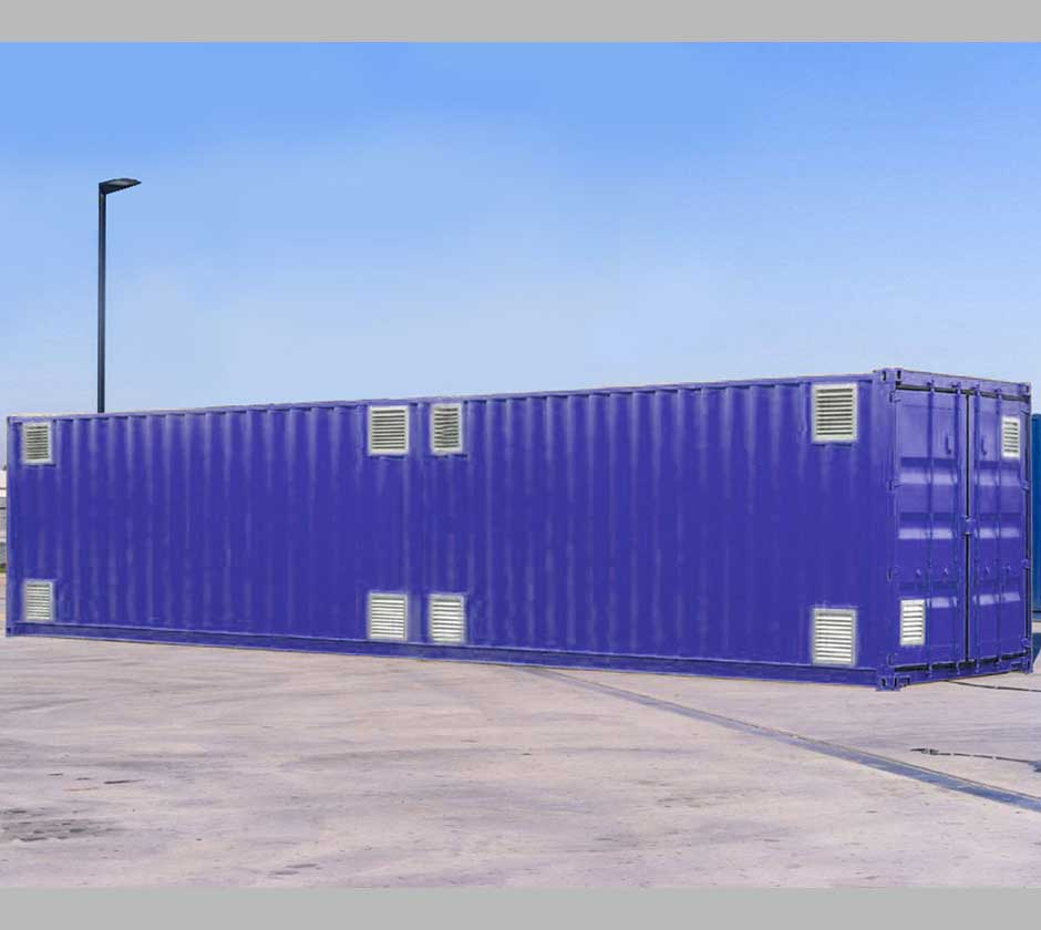 40ft Hazardous Container Cargostore