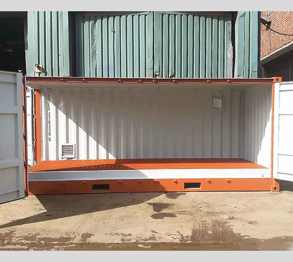 20ft Hazardous Side Door Cargostore