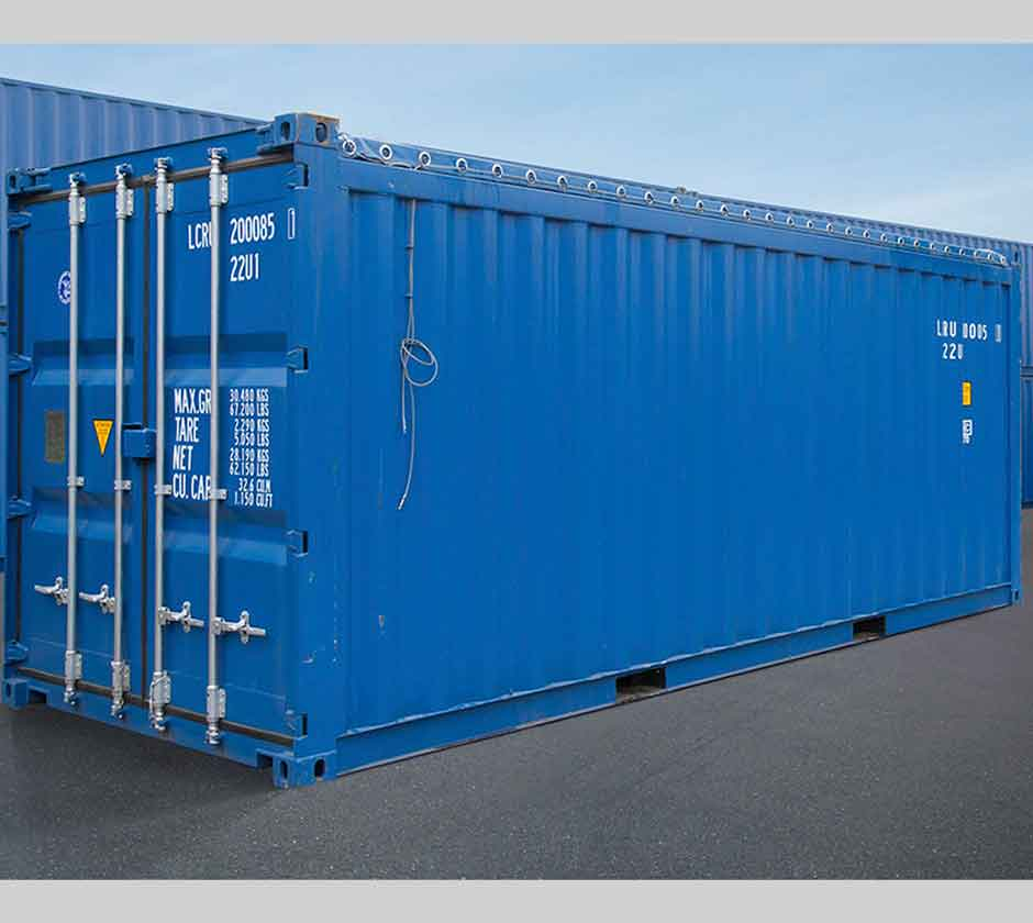 Open Top ISO Shipping Containers | Cargostore Worldwide