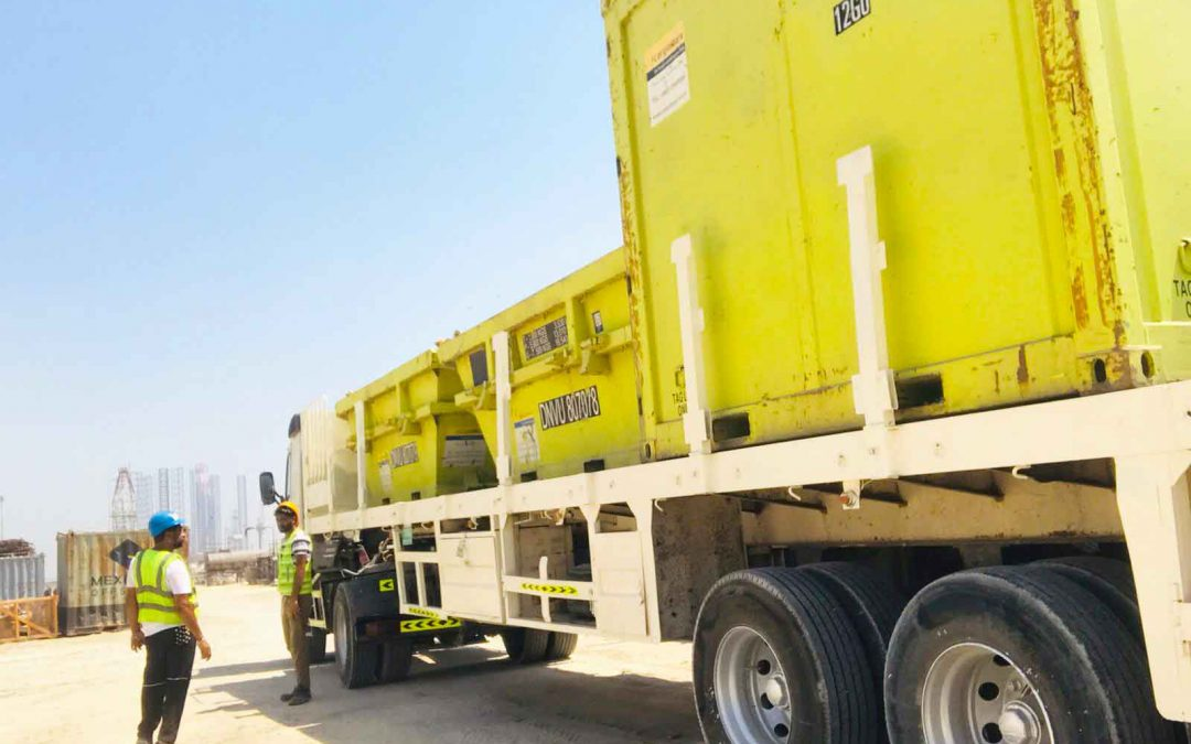 Leading the upgrade to the DNV 2.7-1 standard throughout the Middle East