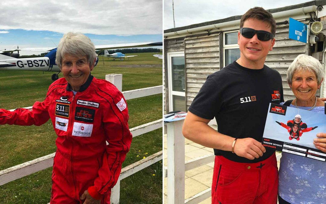 Cargostore Sponsor Brain Tumour Research with Charity Skydive