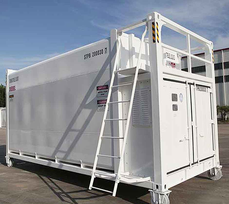 Fuel Storage and Delivery Container Cargostore