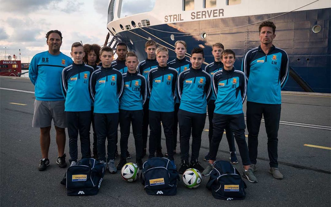 Cargostore Sponsor Den Helder Boys Football Team