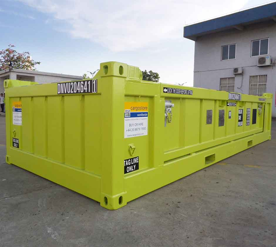 20ft DNV Half Height 16T Heavy Duty