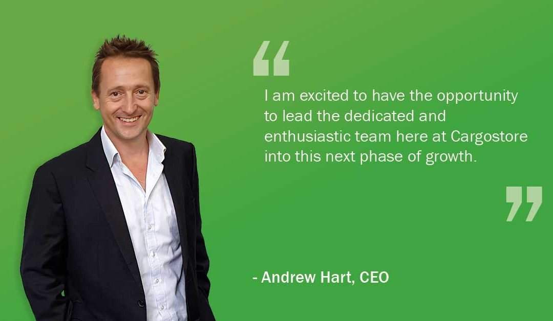 Cargostore Worldwide Appoints Andrew Hart as New CEO