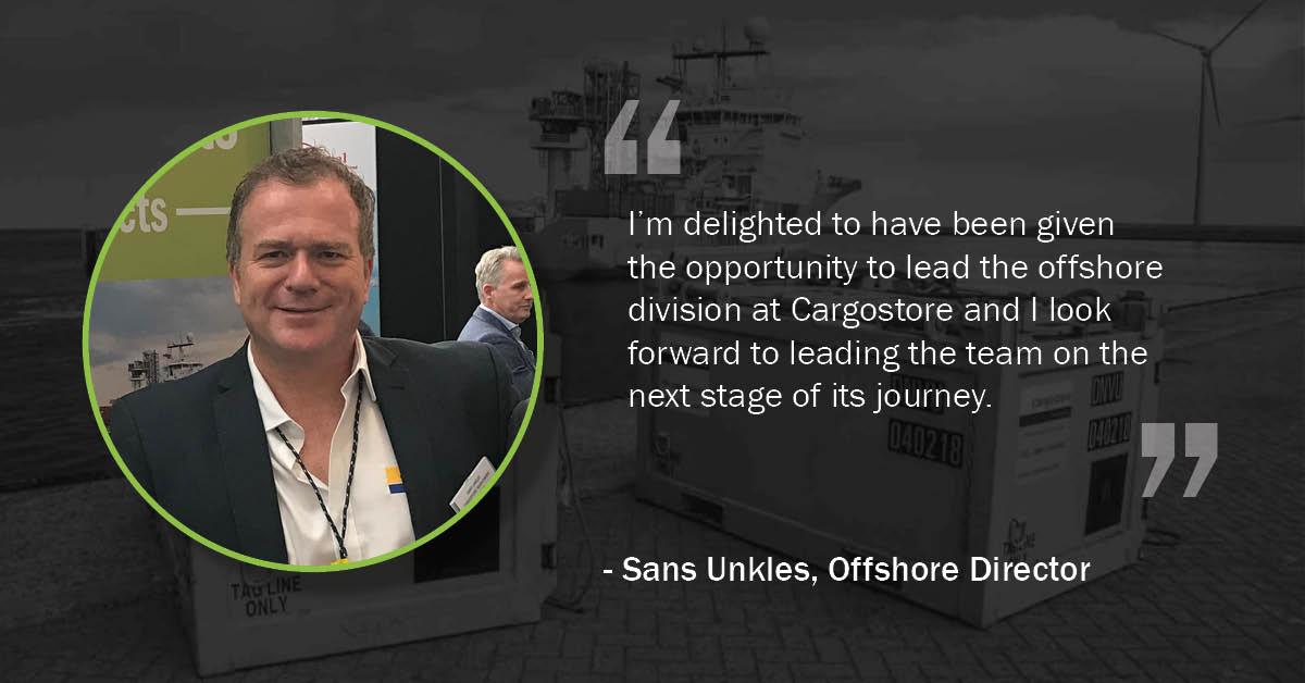 Sans Unkles Offshore Director Cargostore
